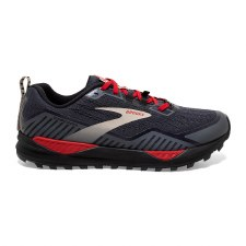 Brooks Cascadia 15 GTX Mens (Black Red) 9