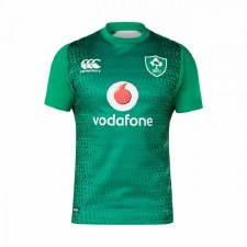 Canterbury Ireland Test Short Sleeve Home Jersey (Green) Small