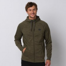 Animal Venture Zip Thru Hoodie (Olive) S