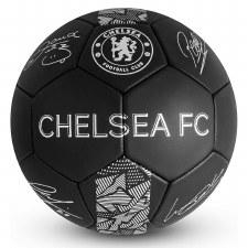 Chelsea Phantom Signature Ball (Blac Silver) Size 5