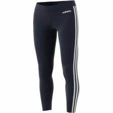Adidas Essential 3 Stripe Tight (Navy White) Medium