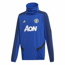 Adidas MUFC Training Warm Up Top Kids 2019/2020 (Blue Black) 13-14