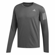 Adidas Own The Run Long Sleeve Tee (Grey) S