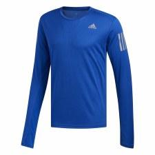 Adidas Own The Run Long Sleeve Tee (Blue) S