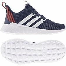 Adidas Questar Flow Kids (Navy Orange White) 3