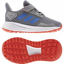 Adidas Duramo 9 Infant (Grey Blue Red) 6