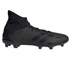 Adidas Predator 20.3 Firm Ground (Black Black) 6