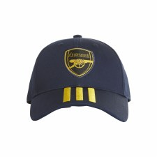 Adidas Arsenal C40 Peaked Hat 2019-2020 (Navy Yellow)