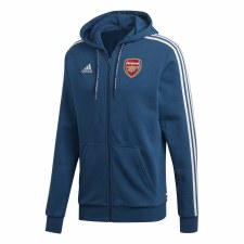 Adidas Arsenal Full Zip Hoodie 2019-2020 (Navy) S