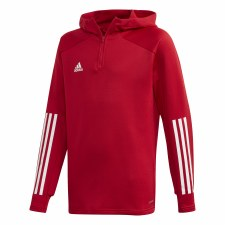 Adidas Condivo Track Hoody Youth (Red White) 9-10