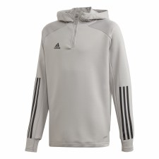 Adidas Condivo Track Hoody Youth (Grey Black) 5-6