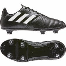 Adidas All Blacks Junior Soft Ground Rugby Boot (Black) 5