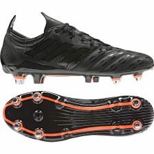 Adidas Malice Rugby Soft Ground Boots (Black Orange) 6