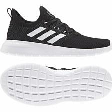 Adidas Lite Racer RBN Kids (Black White) 5.5