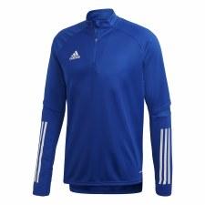 Adidas Condivo 1/4 Zip Training Top (Royal White) Medium