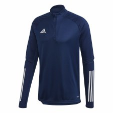 Adidas Condivo 1/4 Zip Training Top (Navy White) XS