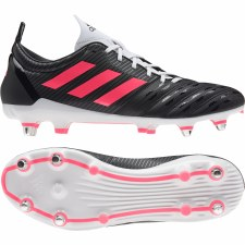 Adidas Malice Soft Ground Boots (Black Red White) 6.5
