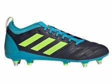 Adidas Malice Elite Soft Ground (Navy Lime Blue) 9.5