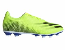 Adidas X Ghosted .4 FxG (Solar Yellow Royal) 9
