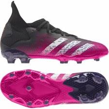 Adidas Predator Freak .3 Firm Ground (Black Shock Pink) 5