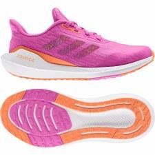 Adidas EQ21 Run Shoes Junior (Pink Orange White) 4