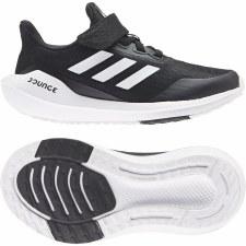 Adidas EQ21 Run Shoes Junior Velcro (Black White) 12