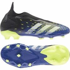 Adidas Predator Freak .3 LL Firm Ground Junior (Black Blue Solar Yellow) 1