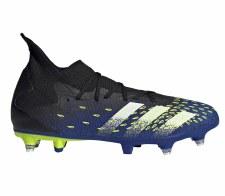 Adidas Predator Freak .3 SG (Black Blue Solar Yellow) 6