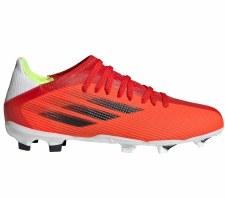 Adidas X Speedflow .3 Firm Ground Junior (Red Black White) 2.5