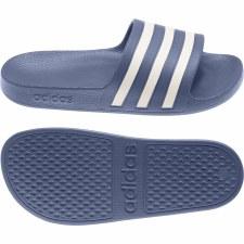 Adidas Adilette Aqua Slide (Blue White) 6