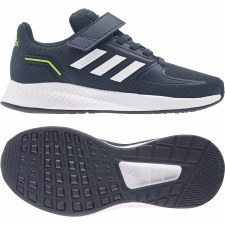 Adidas Run Falcon 2.0 Velcro Kids (Crew Navy Cloud White Legend Ink) 10