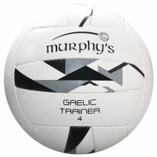 Murphys Gaelic Trainer (White Black Grey) Size 4