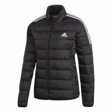 Adidas Essential Down Jacket (Black White) XS