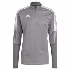 Adidas Tiro 21 Training Top (Grey White) Small