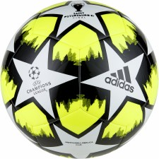 Adidas Finale 21 20th Anniversary UCL Club Ball (White Solar Yellow Black) 5