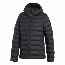 Adidas Synthetic Down Hooded Jacket (Black) XS