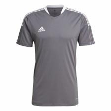 Adidas Tiro 21 Training Jersey (Grey White) Medium