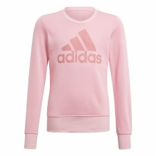 Adidas Essential Sweatshirt (Pink) 7-8