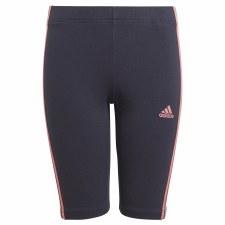 Adidas 3S Tight Shorts (Navy Pink)