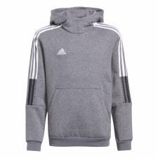 Adidas Tiro 21 SW Junior Hoody (Grey Black White) 5-6