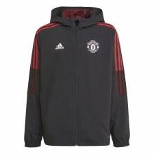 Adidas MUFC Presentation Jacket Junior 21/22 (Red Black) 9-10