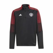 Adidas MUFC Tiro Training Top Youth 21/22 (Black Red) 7-8