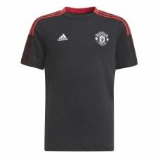 Adidas MUFC Training Tee Youth 21/22 (Red/Black) 7-8