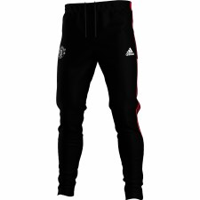 Adidas MUFC Training Pants 21/22 (Black Red) 7-8
