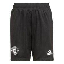 Adidas MUFC Training Short Youth 21/22 (Black Red) 7-8