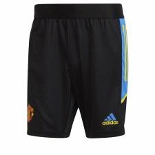 Adidas MUFC EU Training Short 21/22 (Black Blue Yellow) Large