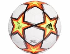Adidas UCL Training Pyrostorm Ball (White Orange Black) Size 5
