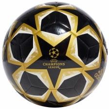 Adidas Champions League Finale 20 Club (Black Gold White) Size 5