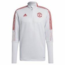Adidas MUFC Training Top 21/22 (Grey Red) XS