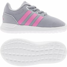 Adidas Lite Racer CLN 2.0 Infants (Grey Pink) 8
